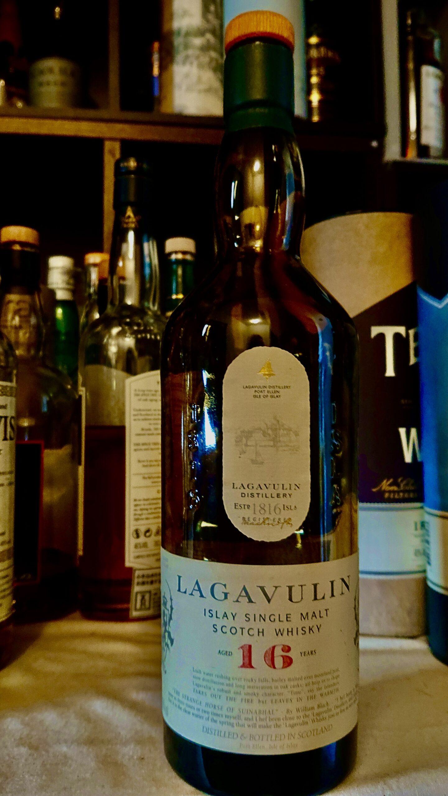 ラガヴーリン16年のテイスティング・アイラの巨人、情熱の歴史を飲む酒