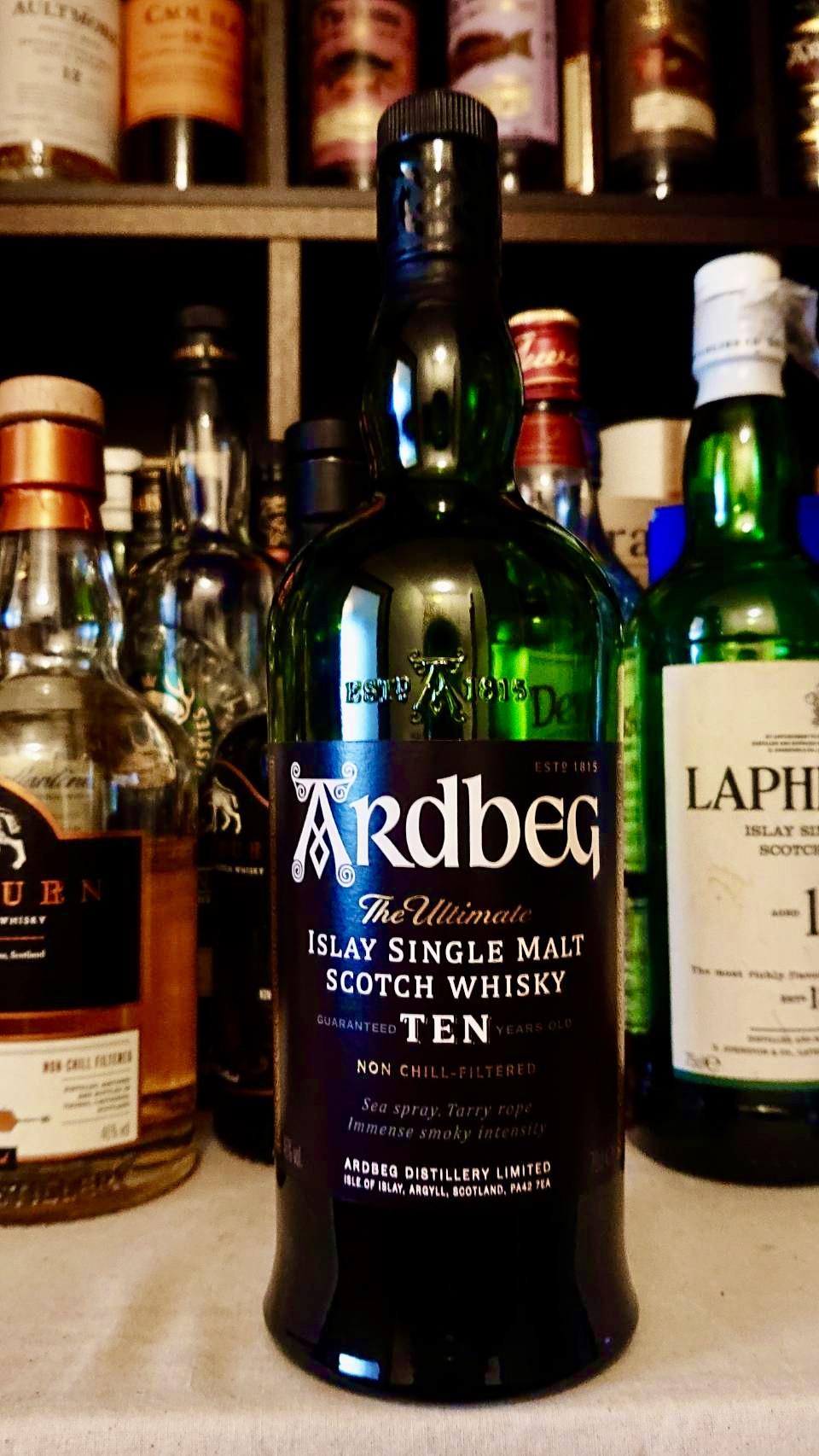 アードベッグ10年のテイスティング・世界中に「アードベギャン」を生む唯一無二の濃密エキス