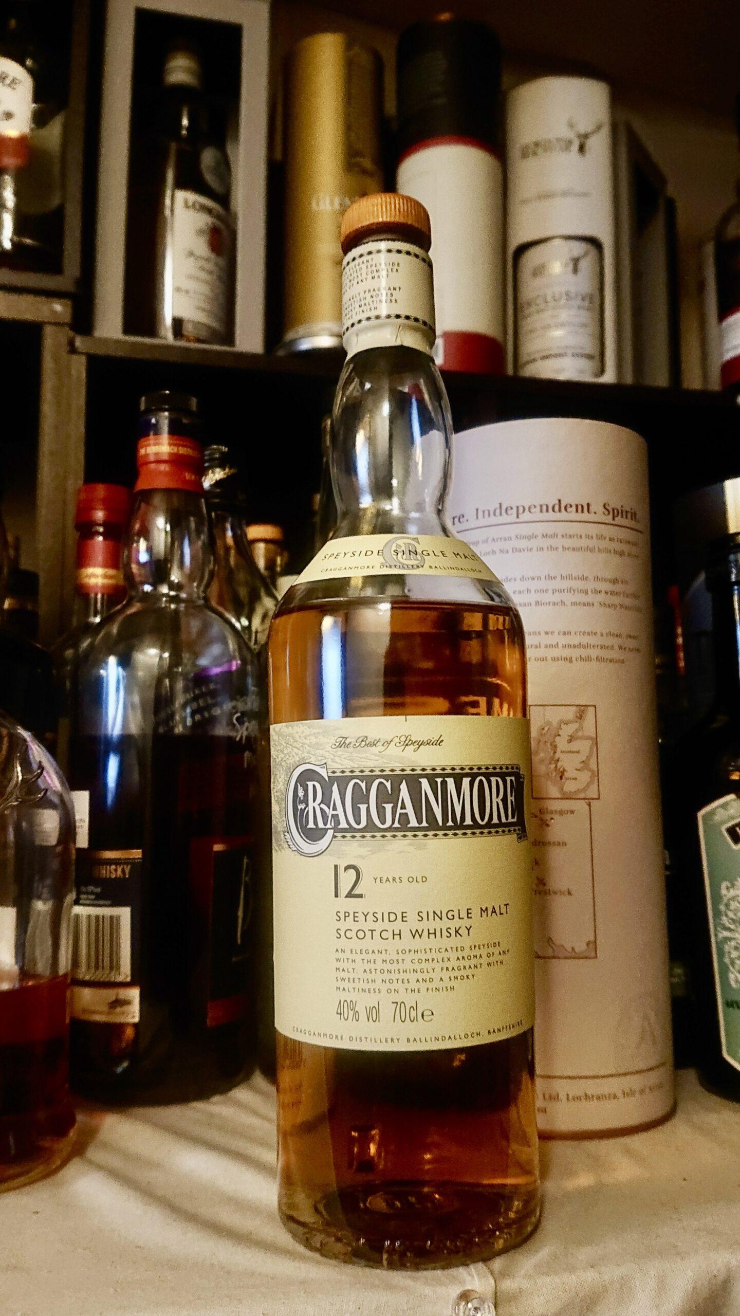 クラガンモア12年のテイスティング・フルーティで甘く華やか。スペイサイドを代表する端麗美酒