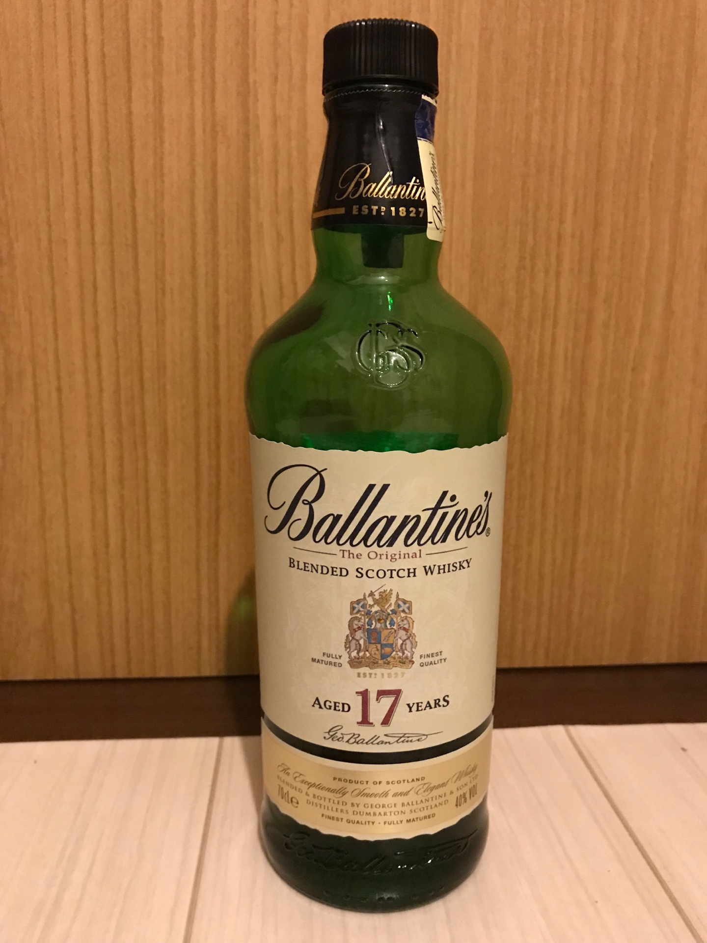 バランタイン17年のテイスティング・「ザ・スコッチ」の実力。究極の飲みやすさ