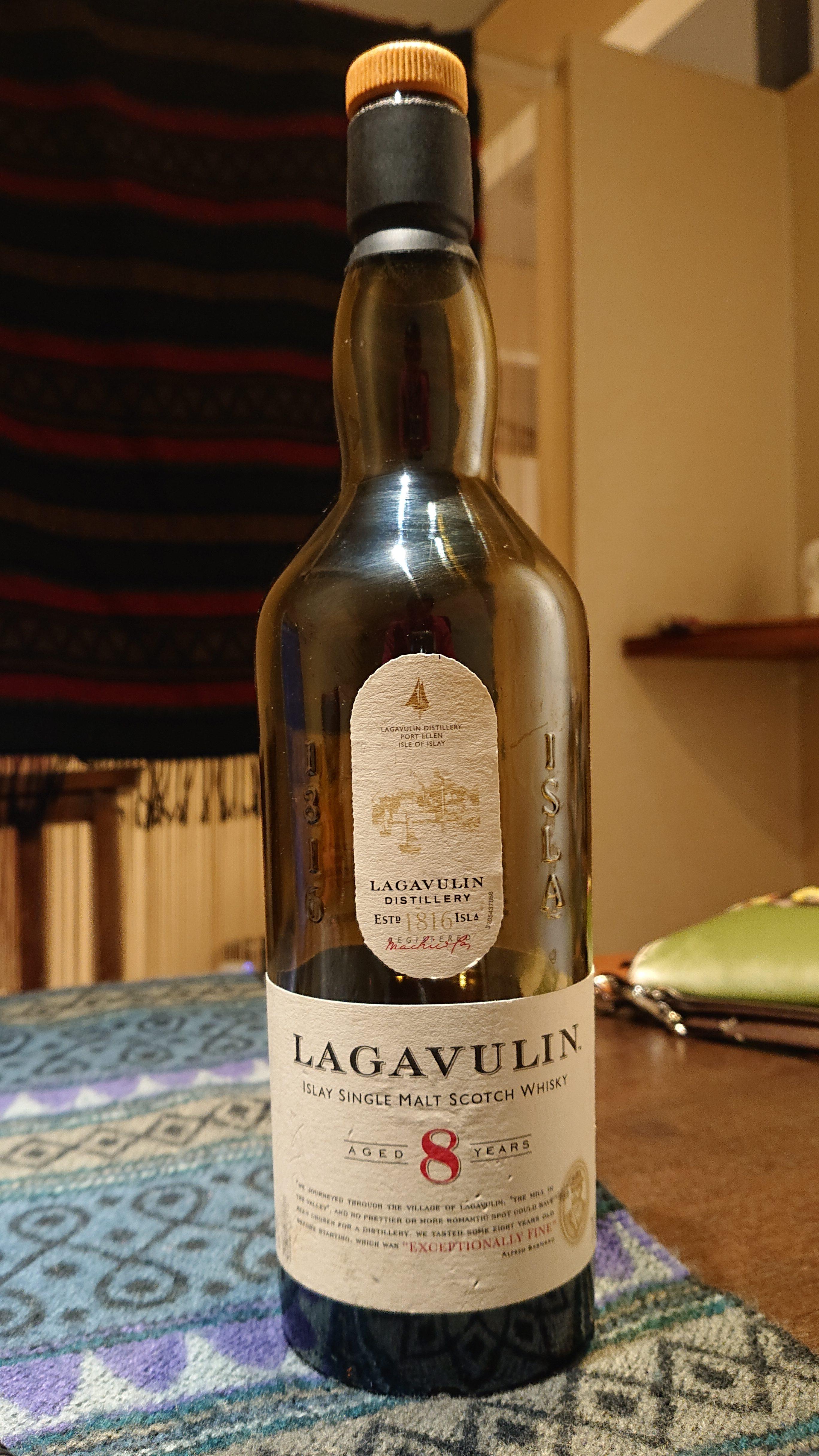 ラガヴーリン8年のテイスティング・アイラの巨人、16年モノ以上のヴィヴィッドな濃縮果汁ウィスキー