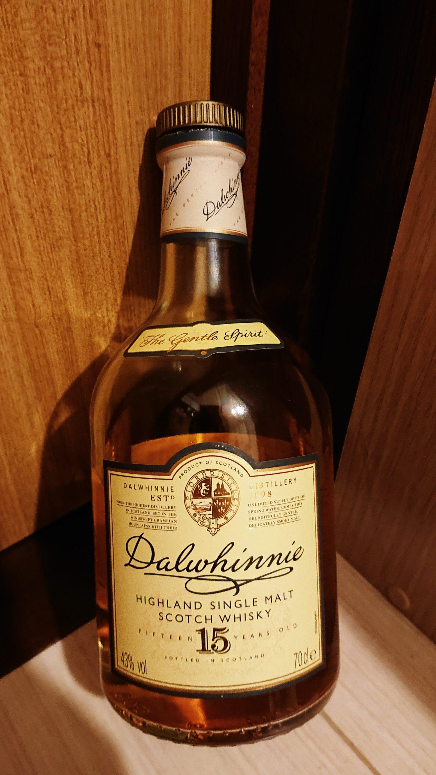 ダルウィニー15年のテイスティング・寒冷地の美酒。山岳地帯の花の香りと蜜の味