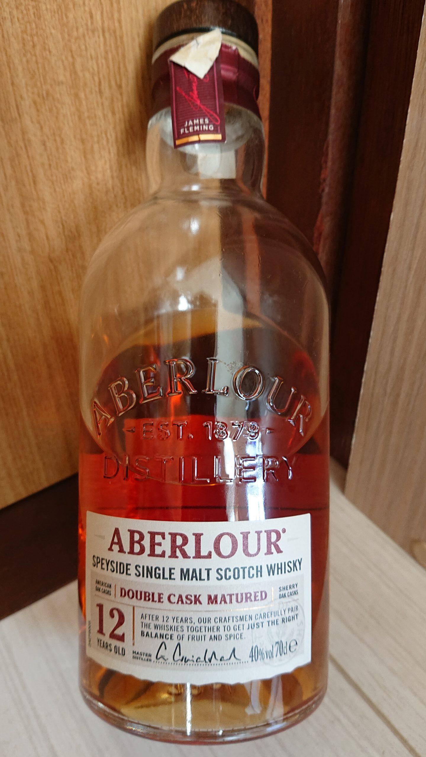 アベラワー12年ダブルカスクマチュアードのテイスティング・フランスで人気の軽やかなデザートウィスキー