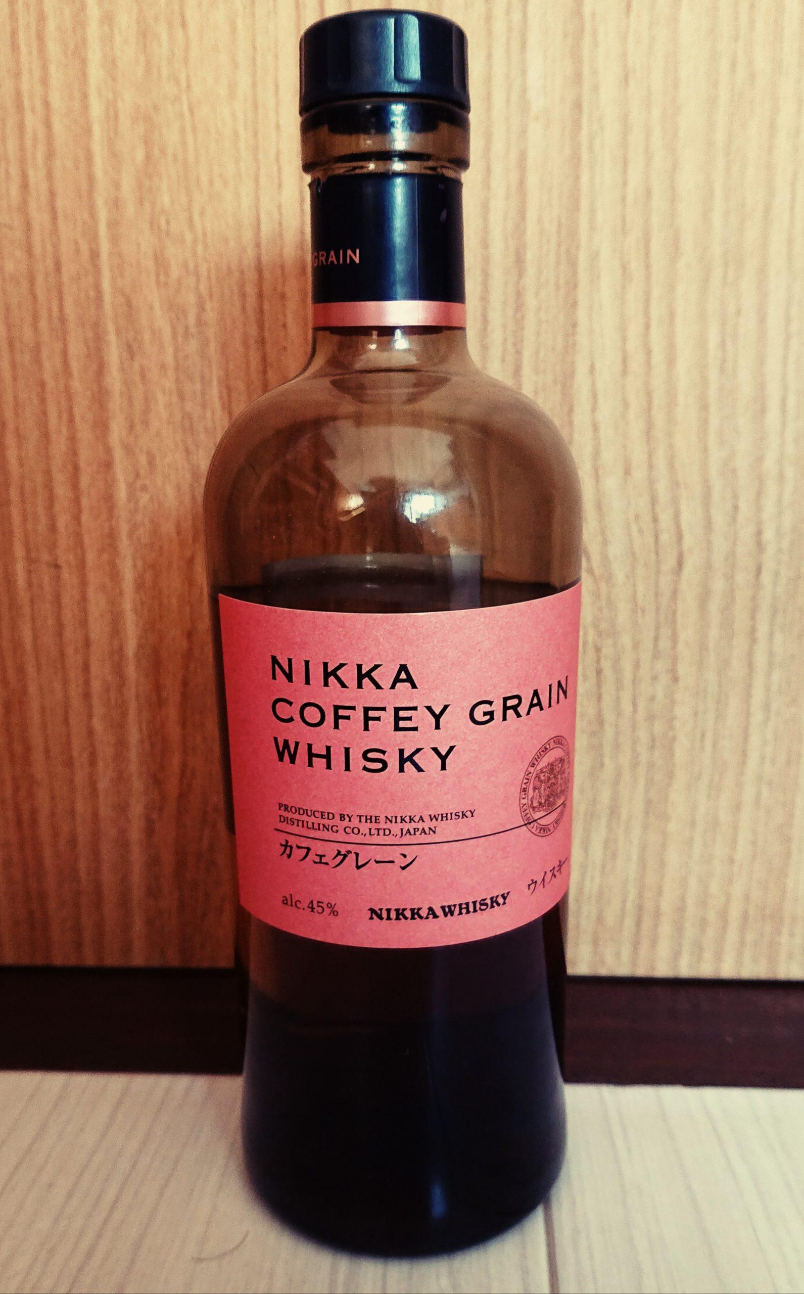 ニッカ・カフェグレーンのテイスティング・世界を魅了するデザートウィスキーその2・ニッカの生んだグレーンウィスキーの革命児