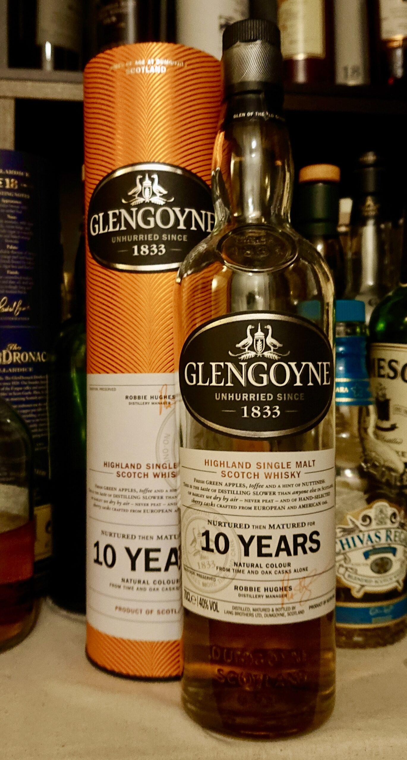 グレンゴイン10年のテイスティング&レヴュー・ハイランドとローランドの間のライト&モルティな癒し系モルト