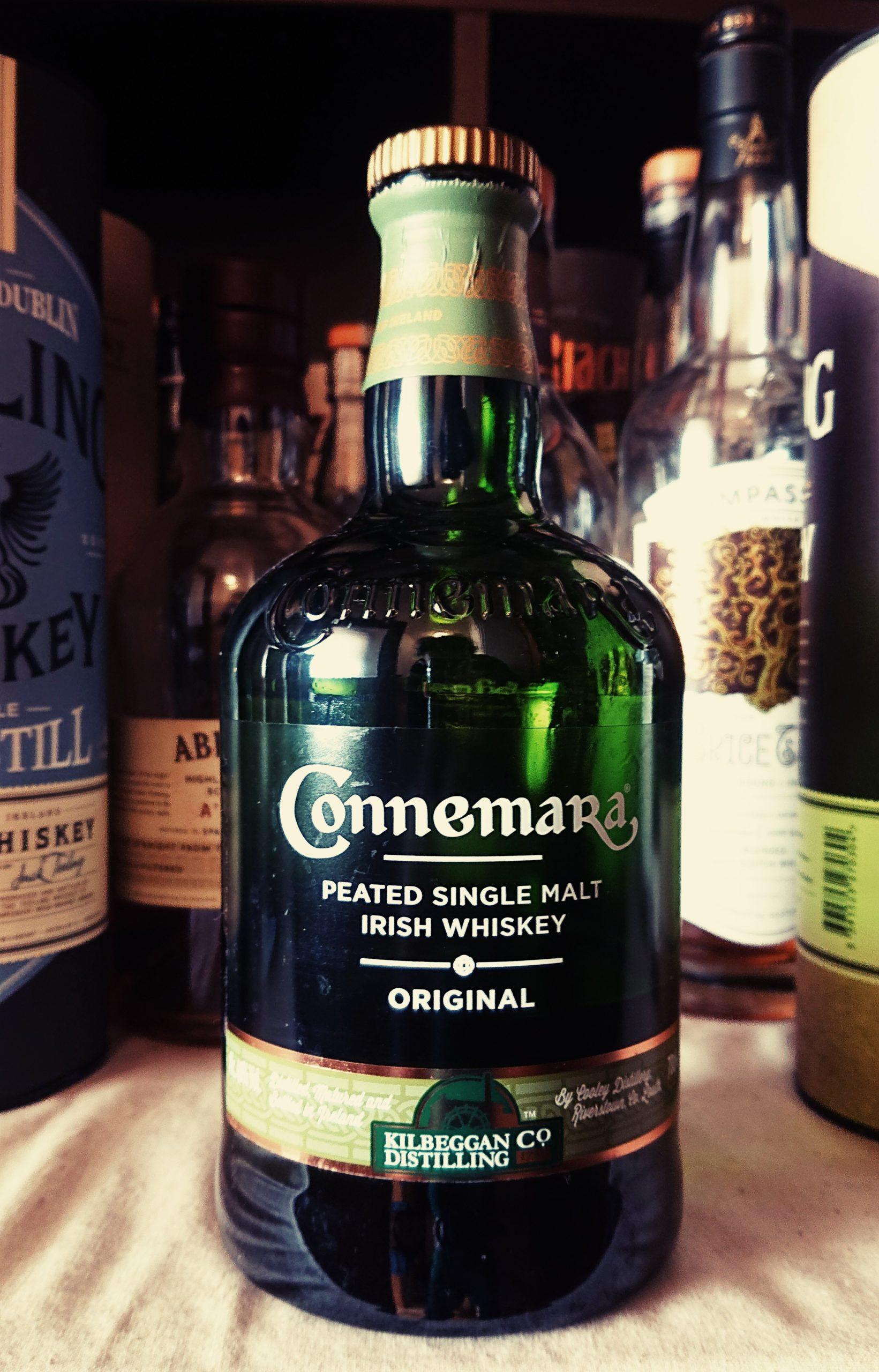 カネマラのテイスティング&レヴュー・クーリー蒸溜所が放つ異端児。20世紀アイリッシュウイスキー初のピーティなウイスキー!