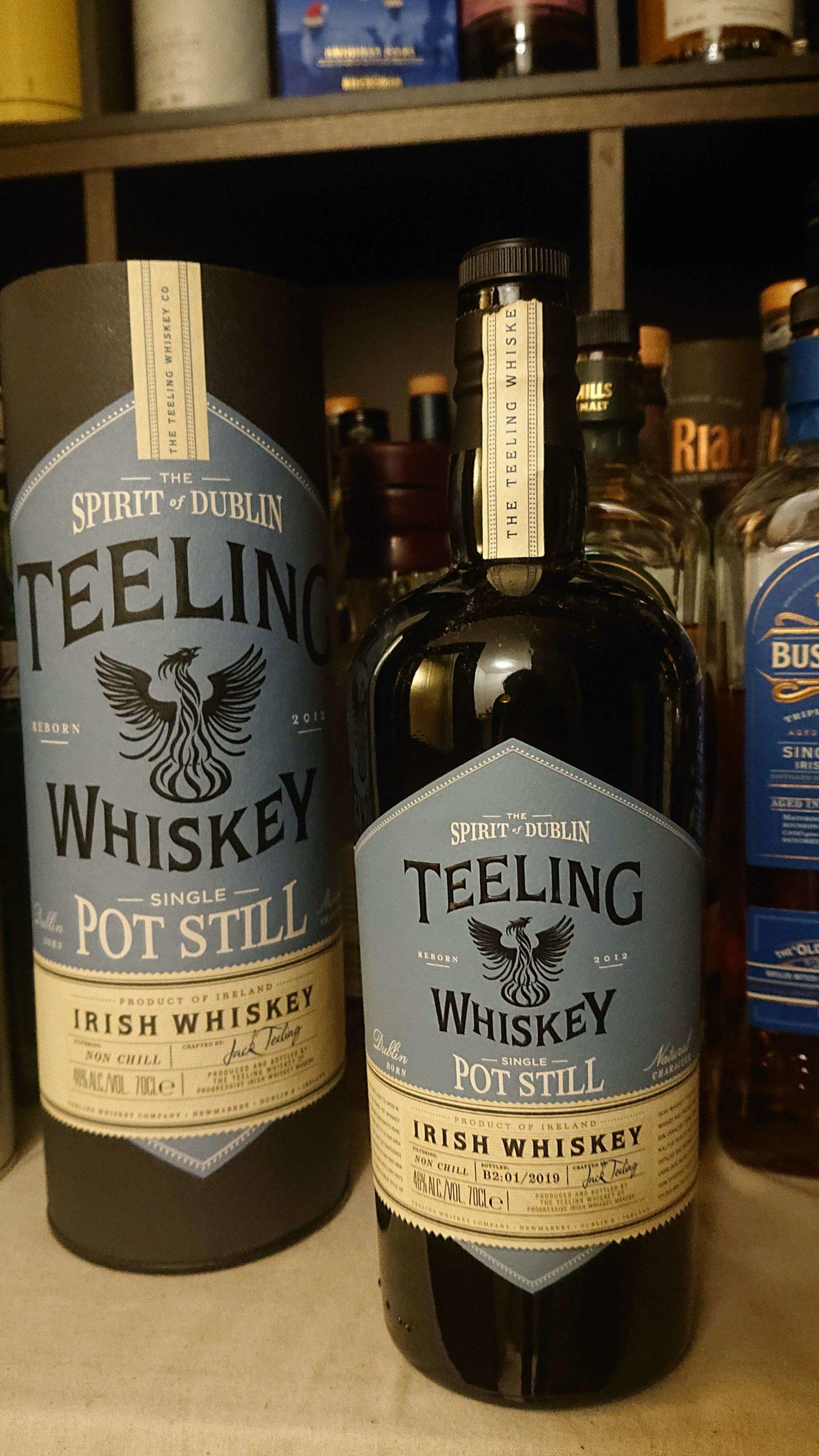ティーリング・シングルポットスティルウイスキーのテイスティング&レヴュー・名家の伝統を受け継ぐ新鋭が放つ、新しいアイリッシュポットスチルウイスキーの形