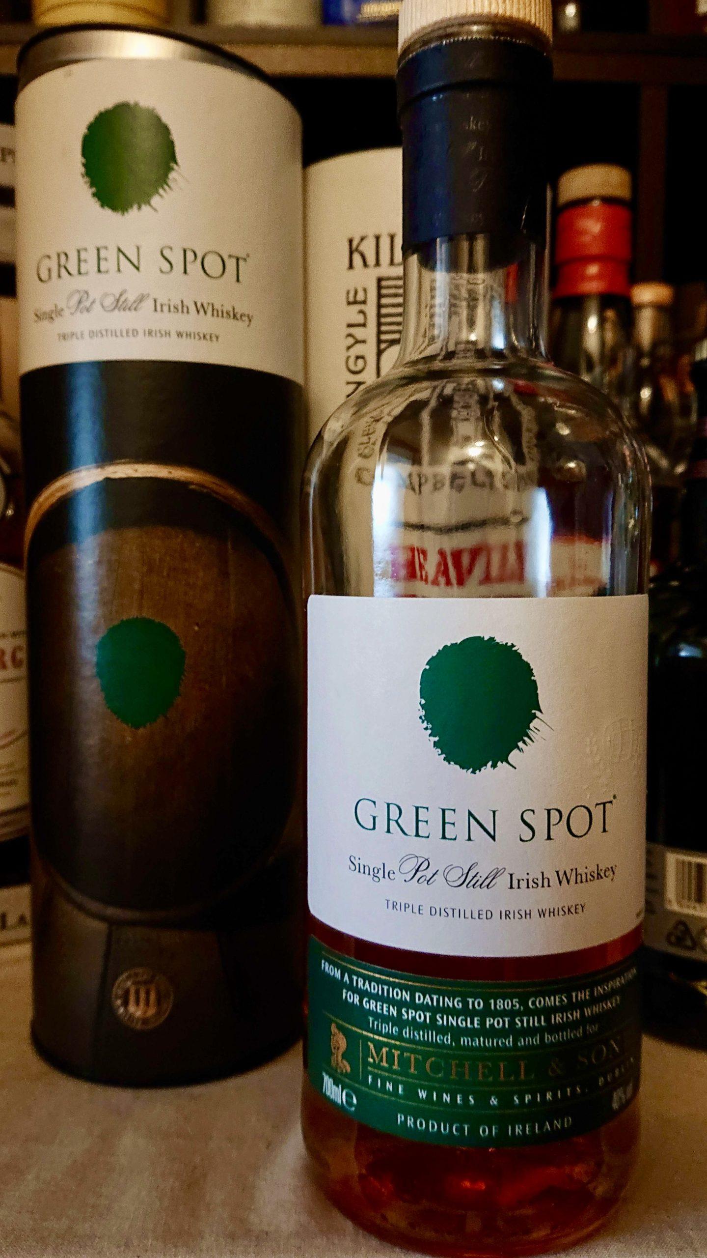 グリーンスポットのテイスティング&レヴュー・これぞアイリッシュなフルーティさ。ラフランスを頬張ったようなフレッシュで繊細なウイスキー!
