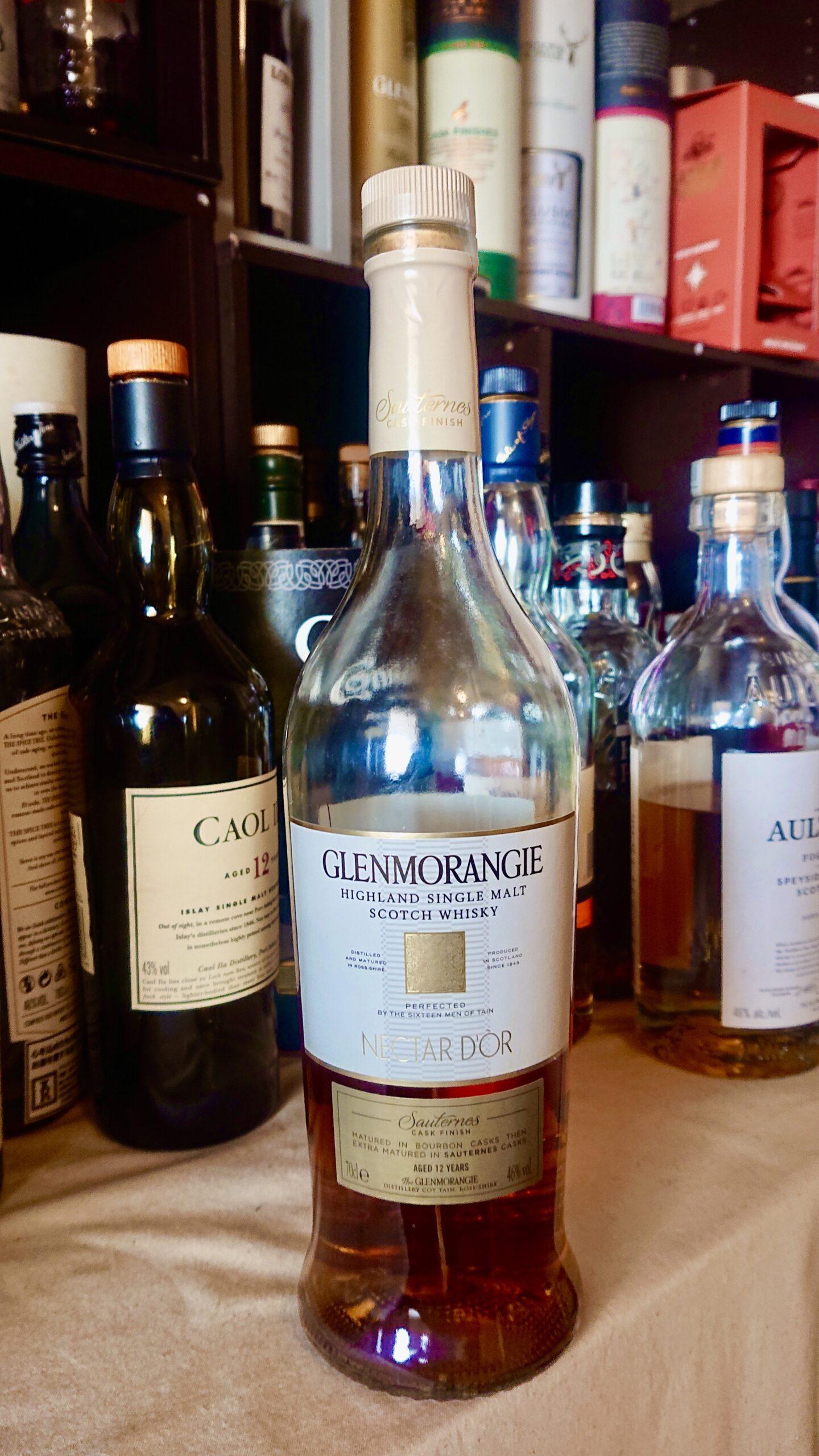 グレンモーレンジィネクタドール12年のテイスティング・樽のパイオニアによる、ソーテルヌワイン樽後熟の美酒