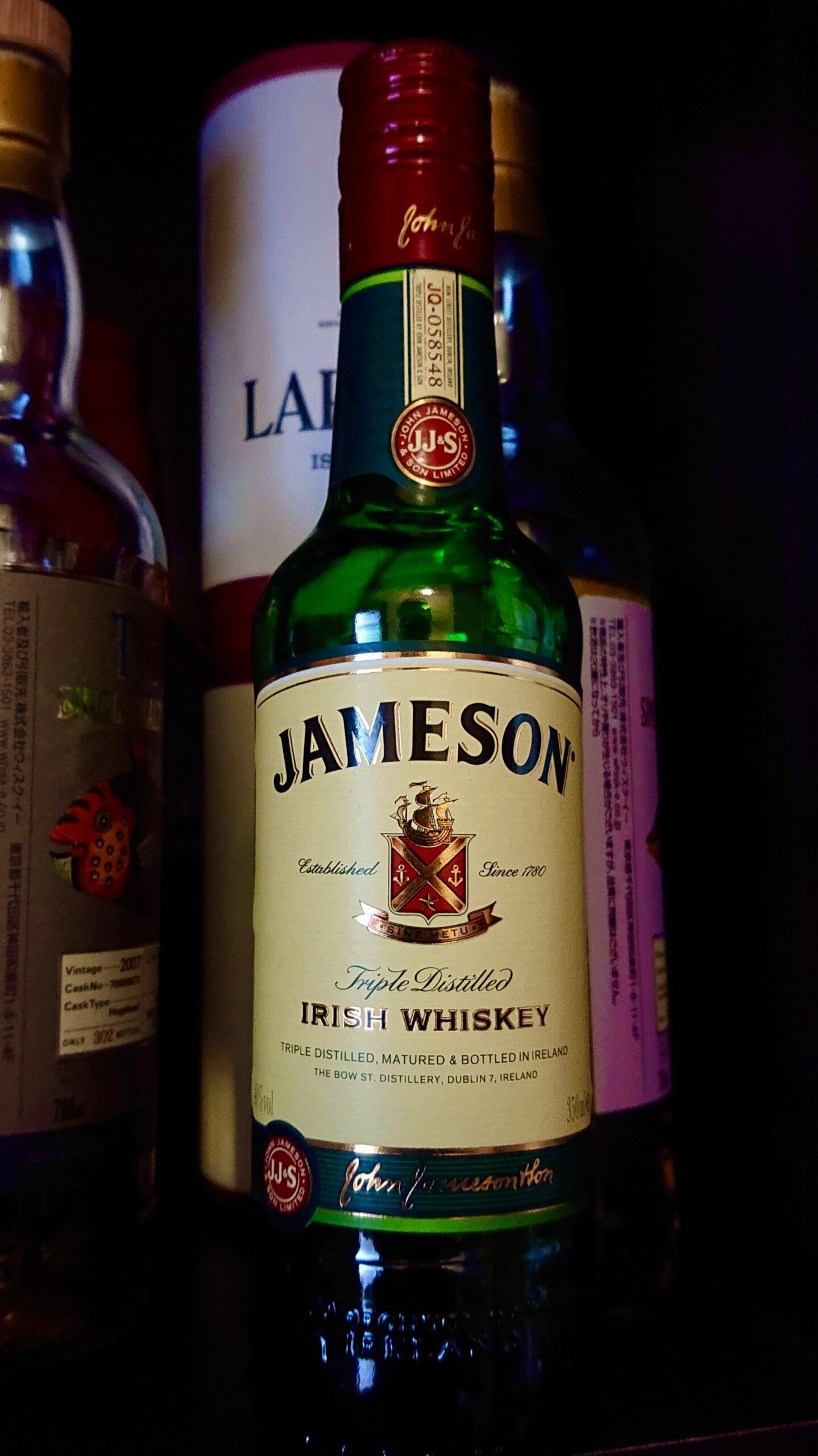 ジェムソンのテイスティング&レビュー・アイリッシュウイスキーの大定番!万人に愛される癒しのコスパ酒