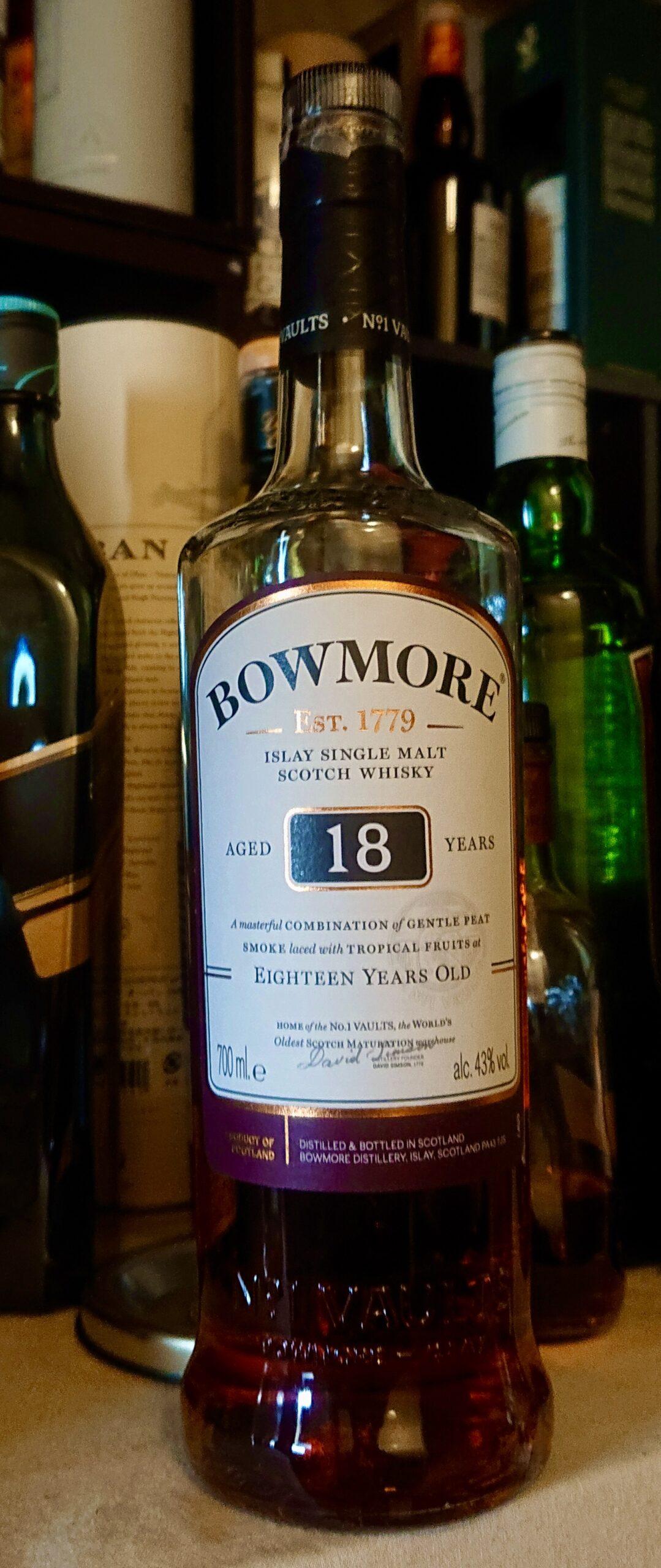ボウモア18年のテイスティング&レヴュー・生まれ変わったボウモア18年を改めてレヴュー。深く豊かにスイートなボウモア!