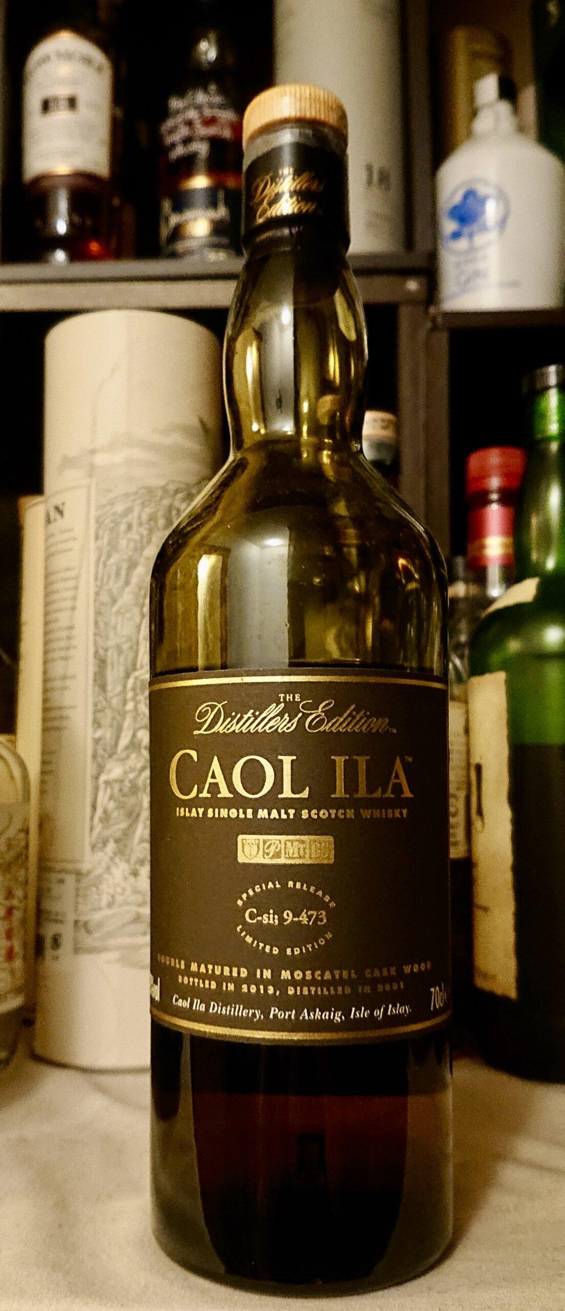 カリラ・ディスティラリーエディション2001−2013のテイスティング&レヴュー・モスカテルシェリー樽にて後熟。蜂蜜とラムレーズンの甘味豊かな、贅沢感あるカリラ!