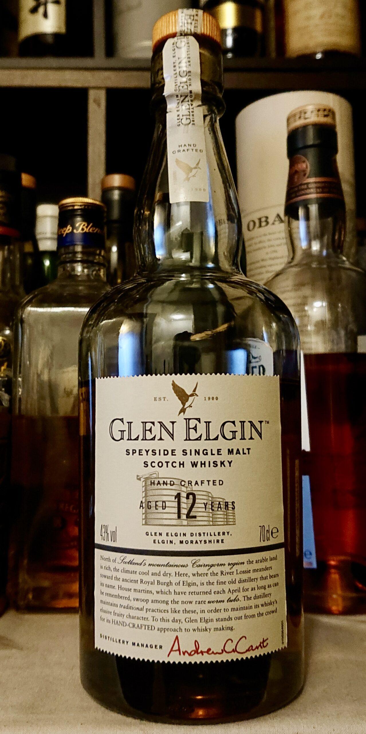 グレンエルギン12年のテイスティング&レヴュー・フローラル?いやパフューミー?ある意味私が最も衝撃を受けたウイスキー!
